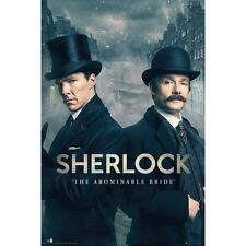 "SHERLOCK: ABOMINABLE BRIDE - BENEDICT CUMBERBATCH 36 x 24"" POSTER BBC TV SERIESx"