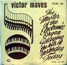 VICTOR MAVES master of electronic organ volume one LP VG CHS 2001 Vinyl  Record