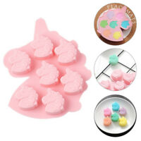 Unicorn Cake Jelly Cookies Soap Mold Chocolate Baking Mould Tray Silicone Mold