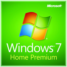Windows 7 Installation Install DVD Disc Home Premium 32 bit only + license key