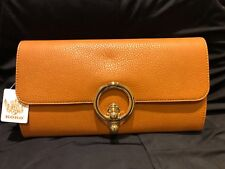 PU LETHER TAN Ladies Clutch/Hand Bag Wedding, Prom,Evening Party.Great Quality