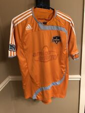 MLS Adidas Houston Dynamo Youth Soccer Jersey Size M