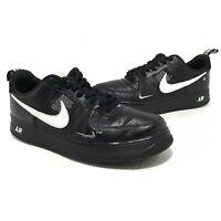Nike Mens Air Force 1 07 LV8 Utility Overbranding Mens Size 13 AJ7747-001 Black