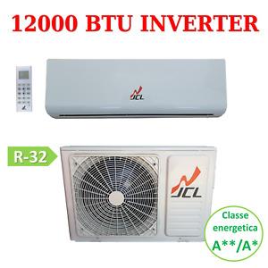 CLIMATIZZATORE CONDIZIONATORE JCL INVERTER 12000 BTU A++/A+ GAS R32