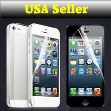 Front & Back Clear Screen Protector Film for Apple iPhone i Phone 5 5s S NEW