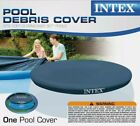 10ft Swimming Pool Debris Vinyl Round Cover Tarp For 10' Easy Set Swimming Pools