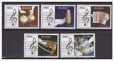 Aruba 2016 Music bongo accordeon steeldrum marimba MNH