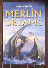 MERLIN DREAMS BY PETER DICKINSON HARDBACK BOOK COMPLETE IN VGC + FAST P&P