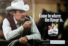 Marlboro Zigaretten Come Sich Wo Der Geschmack Ist Vintage Werbung 1982