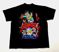 Grateful Dead Shirt T Shirt Vintage 1989 Graffiti Paint New Years Reonegro 25 XL