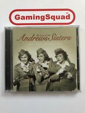 The Best of the Andrews Sisters CD Next Day Dispatch Free Postage