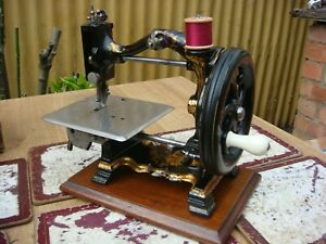 Antique Old  Vintage  Victorian  W-Sleath Sewing Machine By Royal Sewing Machine