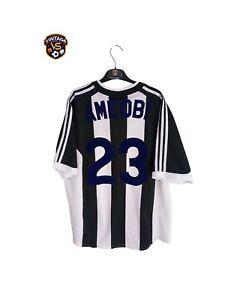 Newcastle United FC Football Home Shirt 2001-2003 (XL)#23 Ameobi Nigeria Jersey
