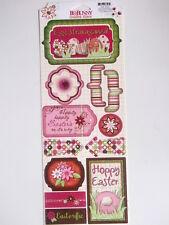 BO Bunny Cartoncino Adesivi-Uovo-Gioco di Pasqua