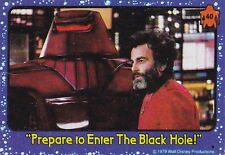 the Black Hole 40 Trading Card 1979 Walt Disney Productions Prepare to Enter