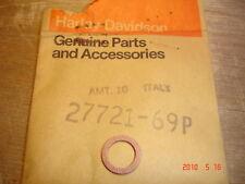 #27721-69P AERMACCHI CARB BOWL CAP FIBER GASKET SEAL HARLEY-DAVIDSON LIGHTWEIGHT