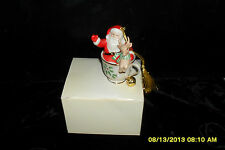 Lenox Santa In Holiday Tea Cup Nib Retired