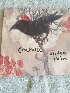 CALEXICO GARDEN RUIN  VINYL LP RARE 1ST PRESSING 2006 QUARTERSTICK RECORDS