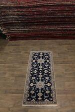 Elegant Handmade Narrow Runner Nain Persian Rug Oriental Area Carpet 2ʹ6X6ʹ3