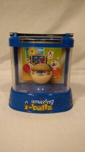 Amazing I-Ballz Electronic Toy 2005 Mattel Inc., Blue Eye Moves & Makes Noise