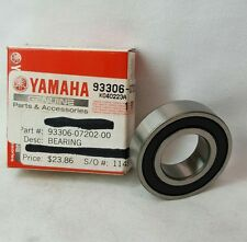 GENUINE YAMAHA 93306-07202 Bearing 1998-2013 YZ4010, TTR200, YZ250, WR250X