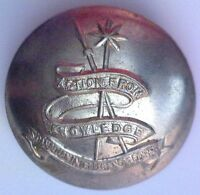 CANADIAN INTELLIGENCE CORPS BRASS BUTTON - LARGE SIZE 25mm - 1943 to 1968