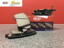 2014-2016 KIA FORTE, 5 AND KOUP 15 INCH NEW OEM BRAKE PADS FRONT 58101 A7A00