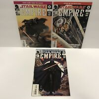 STAR WARS : EMPIRE #14,15,19  Dark Horse Comics 2002-2006 series VF+ Darth Vader
