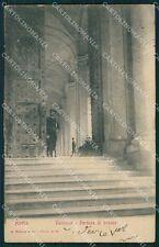 Roma Vaticano Portone di Bronzo cartolina VK1348