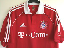 Football Club Bayern Munchen Allemagne Football Bundesliga Jersey T-shirt Taille XL