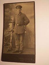 Winsen a. d. Luhe - stehender Soldat in Uniform - Regiment Reserve IR 259 ? CDV
