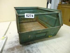 6274. Alte Metall Kiste Stapelkiste