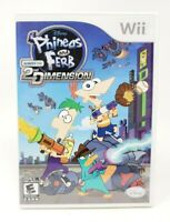 Phineas and Ferb: Across The 2nd Dimension Nintendo Wii Game