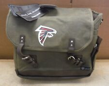 Legacy Waxed Canvas Adventure Insulated Wine Tote w FALCONS Embroidered LOGO bw4