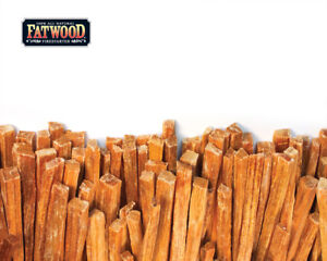 1/2 lb  Fatwood Fire Starter Fat Wood Survival Pine Camping Smoker Grill 8 oz