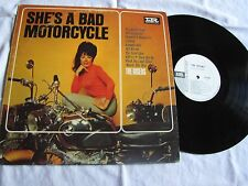 Near Mint WLP The Risers She's a Bad Motorcycle mono promo awesome vinyl