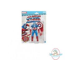 """Marvel Legends Super Heroes Vintage 6"""" Captain America Hasbro Damaged Pack"""