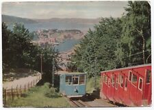 Norway; Bergen, Fløybanen PPC, Unposted, Circa 1960s View of Funicular