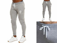 GYM KING Mens Skinny Fit JOGGERS Sweat PANT ~Bottom Slim Fit Tracksuit Style~S
