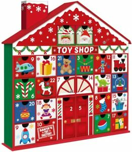 Toyshop Advent Calendar 3D Pull Out Christmas Advent Fill Your Own Countdown