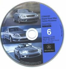 Mercedes-Benz Navigation CD 6 for COMAND KY WV IN MD Ver 11/05 Digital Road Map