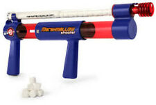 Marshmallow Shooter Gun Shoot Mini Marshmellow Toy  Rapid Fire Classic New Blast