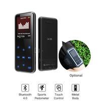 RUIZU 8GB Bluetooth MP3 Player Media FM Radio Recorder HIFI Sport Music Speakers