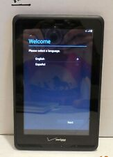 "Verizon Wireless QMV7B Ellipsis 7 7"" Display, 8GB Android Tablet Black"