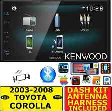 FITS/FOR 2003-2008 TOYOTA COROLLA JVC-KENWOOD BLUETOOTH USB CAR RADIO STEREO PKG