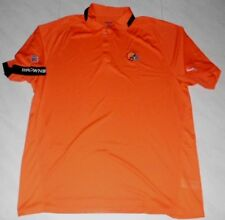 Cleveland Browns Sideline Polo Shirt Small Reebok NFL
