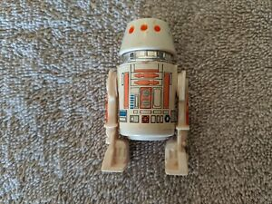 Lot 6-Star Wars -  R5-D4  Droid with clicking head - Vintage 1980 - Kenner