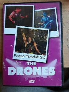 THE DRONES..FURTHER TEMPTATIONS..DVD ..USED
