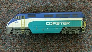 Nice Athearn RTR Coaster F59PHI #3001 DCC Ready Hard to Find! Please Read HO
