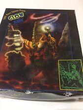 NEW Fantasy Glow In Dark 550 Pc WIZARD JIGSAW PUZZLE 24 X 18 Gamers